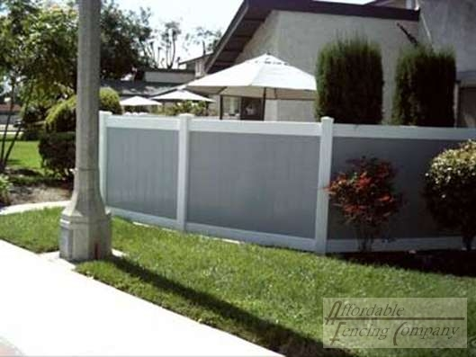 Vinyl Fences - Countryside Fence