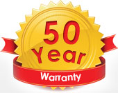 50 Years Transferable Guarantee