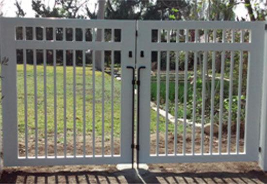 vinyl fence with metal gate. Riverside CA Wood Glass Aluminum Vinyl Fencing Contractor Fence With Metal Gate C