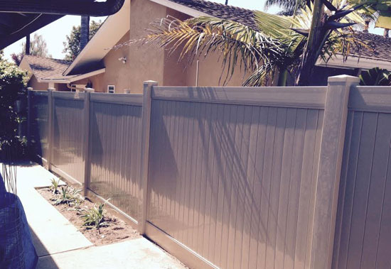 Vinyl Fence Installation