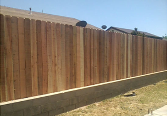 Wood Fencing Installation