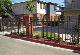 Commercial Property Fence