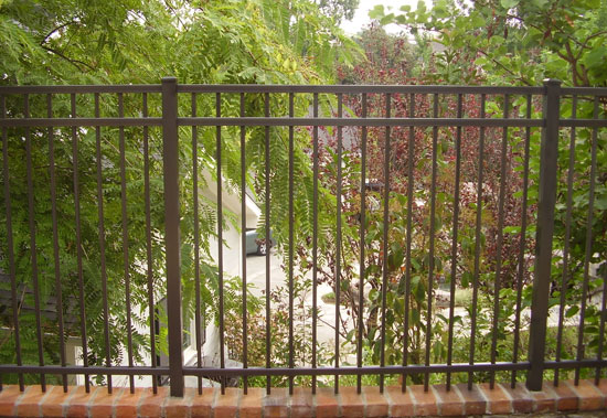 Aluminium Fence and Gate