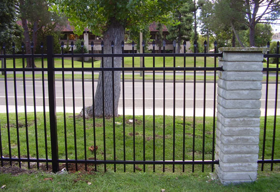 Image result for Metal Fencing Installer