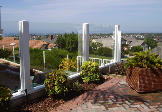 OC Glass Framed Fencing
