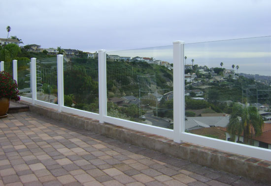 Vinyl Glass Fencing And Gates Styles Orange County