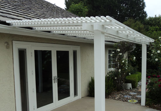 50 50 Vinyl Patio Covers Styles Orange County Fencing