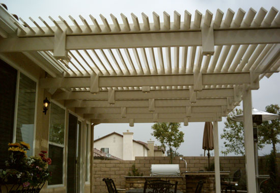 Louvered Top Patio Cover 11