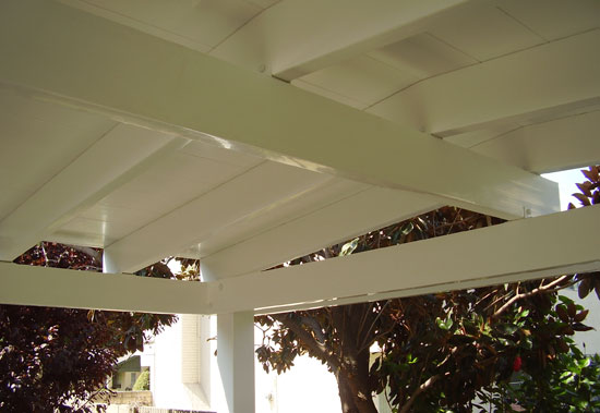 Solid Top Vinyl Patio Covers Styles Orange County
