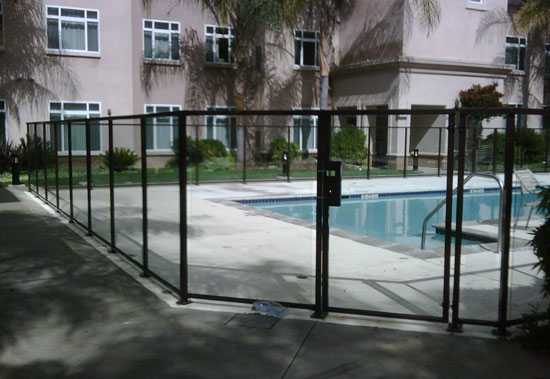 Glass Fencing Los Alamitos