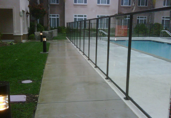 Glass Pool Fencing OC