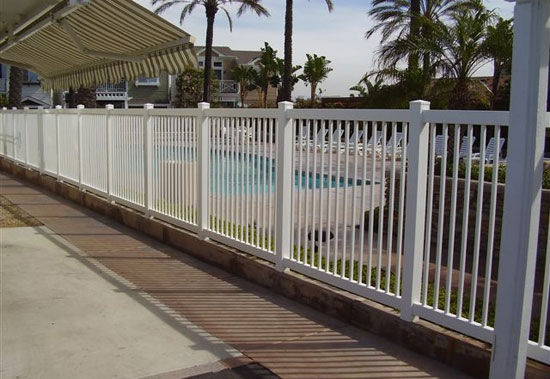 Vinyl Reinforced Pool Fences