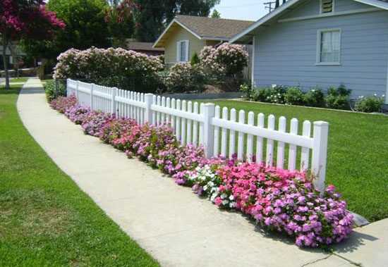 Orange County Picket Fencing