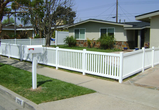 Picket Fencing Styles Orange County Fencing Contractor