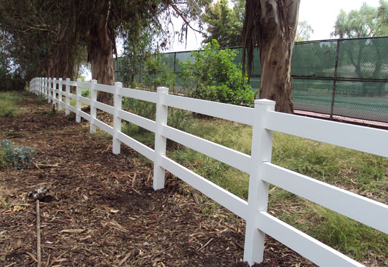 OC Ranch Rail Fence