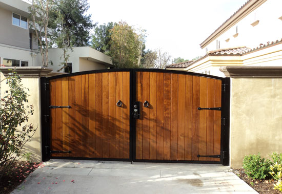 Custom Wood Gates Styles Orange County Fencing Contractor