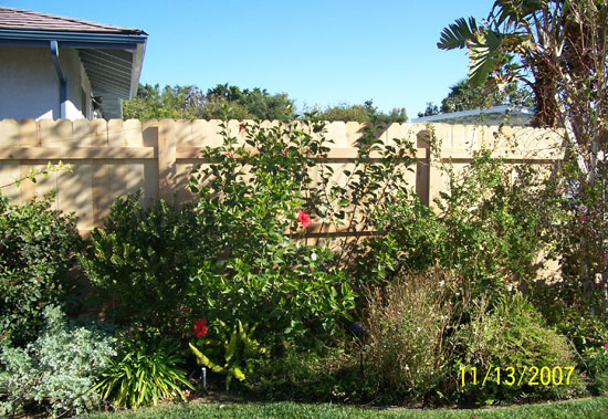 Brea, California Wood Fencing