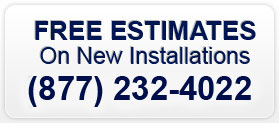 Free Estimates on New Installation